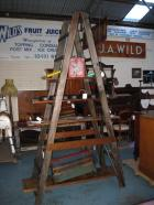 Large Old A Frame Display Ladder  Large Old A Frame Display Ladder