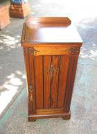 Lovely Victorian Pine Bedside with Original Stencilling Lovely Victorian Pine Bedside with Original Stencilling