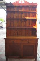 Unusual Pine Open Rack Dresser C1900 in lovely order Unusual Pine Open Rack Dresser C1900 in lovely order